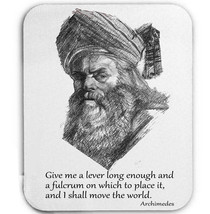 Archimedes Greek Philosopher   Mouse Mat/Pad Amazing Design - $13.82