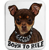 Chihuahua  Born To Rule   Mouse Mat/Pad Amazing Design - $13.87