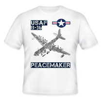 USAF B-36 PEACEMAKER - NEW AMAZING GRAPHIC QUOTE T-SHIRT - S-M-L-XL-XXL - $36.80