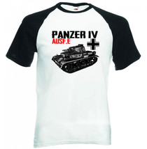 Panzer Iv Ausf E  Germany Ww Ii   Black Sleeved Baseball Tshirt S M L Xl Xxl - $27.10