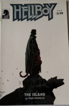 HELLBOY The Island # 1 Comic by Mike Mignola - $15.67