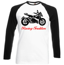 Italian Motorcycle Db9 Brivido   Black Sleeved Baseball Tshirt S M L Xl Xxl - $27.61