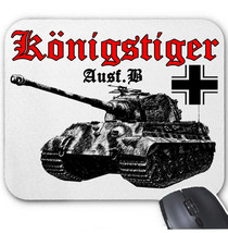KONIGSTIGER PANZERKAMPFWAGEN II GERMANY WWII - MOUSE MAT/PAD AMAZING DESIGN - $282,99 MXN