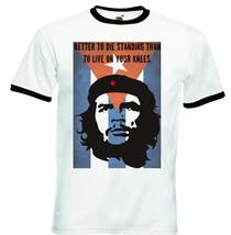 Ernesto Che Guevara Cuba Flag Quote 1  Black Ringer Tshirt S M L Xl Xxl - $39.30
