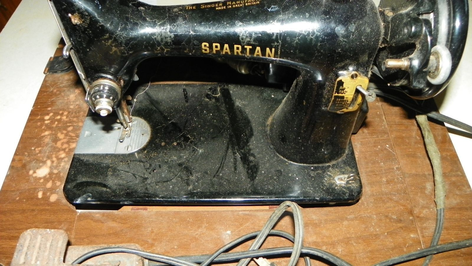 spartan sewing machine parts