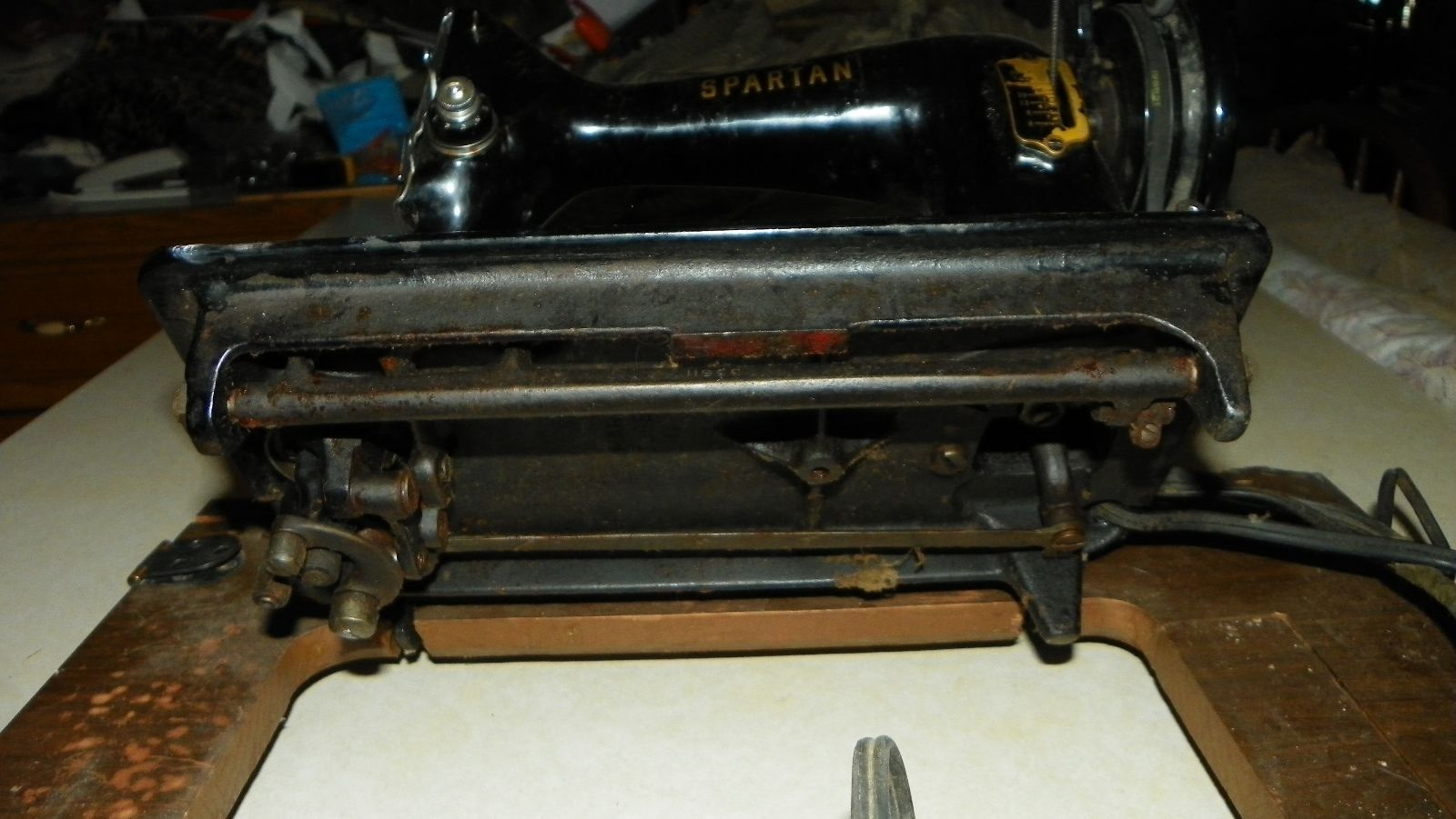 spartan sewing machine