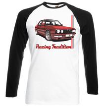 German Car M5 Inspired    Black Sleeved Baseball Tshirt S M L Xl Xxl - $27.61