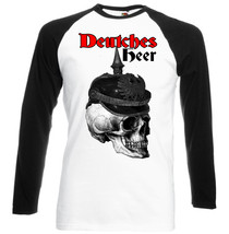 Deutches Heer Germany Wwi   Black Sleeved Baseball Tshirt S M L Xl Xxl - $27.61
