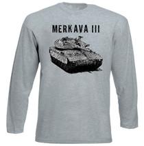 Merkava Iii Israeli Army Tank   New Amazing Graphic Grey Tshirt  S M L Xl Xxl - $34.62
