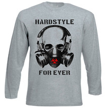 Hardstyle For Ever   New Amazing Graphic Grey Tshirt  S M L Xl Xxl - $35.56