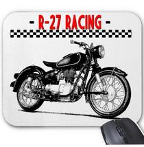 German R 27 Racing Vintage Motorcycle   Mouse Mat/Pad Amazing Design - $13.94