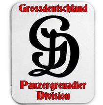 Grossdeutschland Panzer Granadier Division Wwii   Mouse Mat/Pad Amazing Design - $13.82