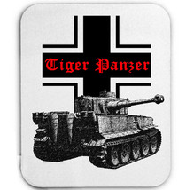Tiger Panzer Germany Wwii Tank   Mouse Mat/Pad Amazing Design - $12.21
