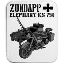 Zundapp Elephant Ks 750 Germany Wwii   Mouse Mat/Pad Amazing Design - $13.95
