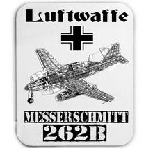 Luftwaffe Messerschmitt 262 Germany Wwii   Mouse Mat/Pad Amazing Design - $13.94