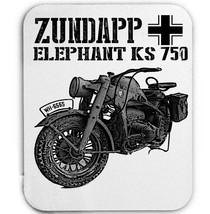 Zundapp Elephant Ks 750 Germany Wwii 1  Mouse Mat/Pad Amazing Design - $13.94