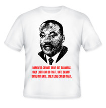 Martin Luther King Jr   New Amazing Graphic Quote T Shirt   S M L Xl Xxl - $35.98