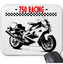 JAPANESE MOTORCYCLE 750 RACING - MOUSE MAT/PAD AMAZING DESIGN - $13.94