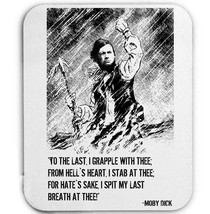 Moby Dick Herman Malville   Mouse Mat/Pad Amazing Design - $13.94