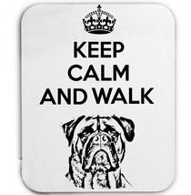 KEEP CALM AND WALK THE BULLMASTIFS - MOUSE MAT/PAD AMAZING DESIGN - $13.95