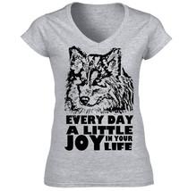 A Little Joy Husky Syberian P B   New  Graphic Grey T Shirt   S M L Xl Xxl - $26.23