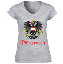 AUSTRIA - COTTON GREY TSHIRT S-M-L-XL-XXL - $36.80
