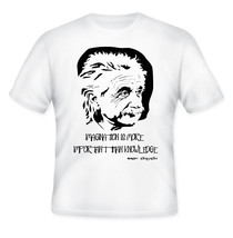 ALBERT EINSTEIN - NEW AMAZING GRAPHIC T-SHIRT - S-M-L-XL-XXL - $34.76