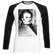 Franz Schubert Austrian Composer   New Baseball Tshirt S M L Xl Xxl - $26.53
