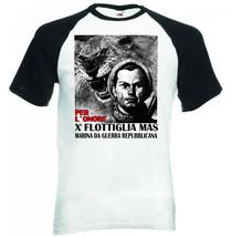 Flottiglia Decima Mas Italy Wwii  Black Sleeved Baseball Tshirt S M L Xl Xxl - $27.61