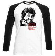 Kurt Vonnegut Quote  Black Sleeved Baseball Tshirt S M L Xl Xxl - $27.51