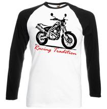 Japanese Motorcycle  Tricker Xg250    Black Sleeved Baseball Tshirt S M L Xl Xxl - $37.84