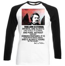 Honor De Balzac True Love Quote    New Baseball Tshirt S M L Xl Xxl - $38.82