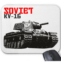 Soviet Union Kv 16 Tank   Mouse Mat/Pad Amazing Design - $13.95