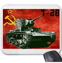 T-26 SOVIET UNION TANK WWII - MOUSE MAT/PAD AMAZING DESIGN - $15.09