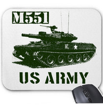 M551 USA ARMY TANK WWII - MOUSE MAT/PAD AMAZING DESIGN - $13.95