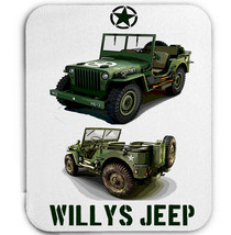 WILLYS JEEP WWII USA 4  - MOUSE MAT/PAD AMAZING DESIGN - $13.82