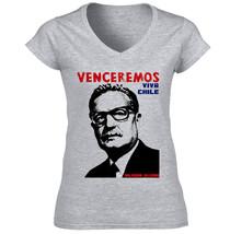 Allende Chile President   Cotton Grey Tshirt S M L Xl Xxl - $36.80