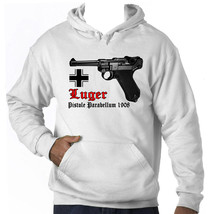 Luger Po8 Gun Germany Wwii   Amazing Graphic Hoodie S M L Xl Xxl - $54.54