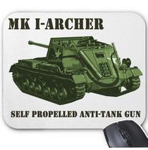 MK I ARCHER SELF PROPELLED ANTI-TANK UK WWII - MOUSE MAT/PAD AMAZING DESIGN - $13.95