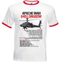APACHE WAH 64D LONGBOW - RED RINGER T-SHIRT S-M-L-XL-XXL - $38.39