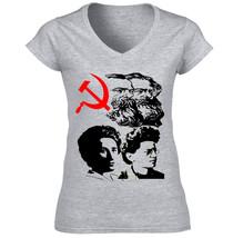 Communism Fathers   Cotton Grey Tshirt S M L Xl Xxl - $25.89