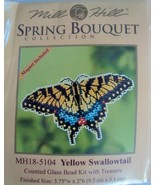 Mill Hill Spring Bouquet Yellow Swallowtail MH1... - $5.75