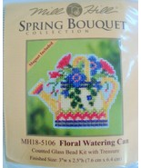 Mill Hill Spring Bouquet Floral Watering Can MH... - $5.75