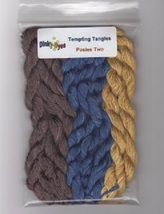 SILK FLOSS PACK Dinky Dyes (8 skeins) for Posies 2 chart Tempting Tangles - $28.80