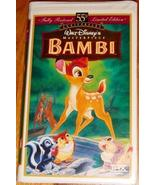 Bambi (VHS) 1997 ~ 55th Anniversary Edition - $6.00