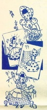 Bonnet / Sunbonnet Girls TOWEL embroidery pattern AB7200  - $5.00