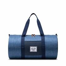 Herschel Sutton Mid-Volume Duffel Bag, Faded Indigo Denim, One Size - $54.56