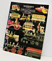 SOTHEBYS Collectors Carousel Auction Catalog 1987 Dolls Dollhouses Toys ... - $29.02