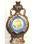Executive Series Yellow Rose Decanter by Jim Beam - $14.00
