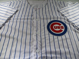 KRIS BRYANT / AUTOGRAPHED CHICAGO CUBS PINSTRIPED CUSTOM BASEBALL JERSEY / COA image 2